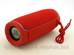 JBL Flip X Portable Wireless Speaker 10W реплика, портативная колонка с Bluetooth FM MP3, красная, фото 3