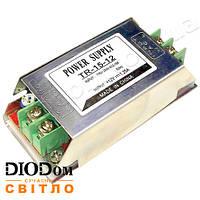 Не герметичный блок питанияTR-15DC12 15W 1АIP20 BIOM