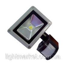 Прожектор светодиодный с датчиком 10w