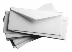 Конверты и почтовые пакеты