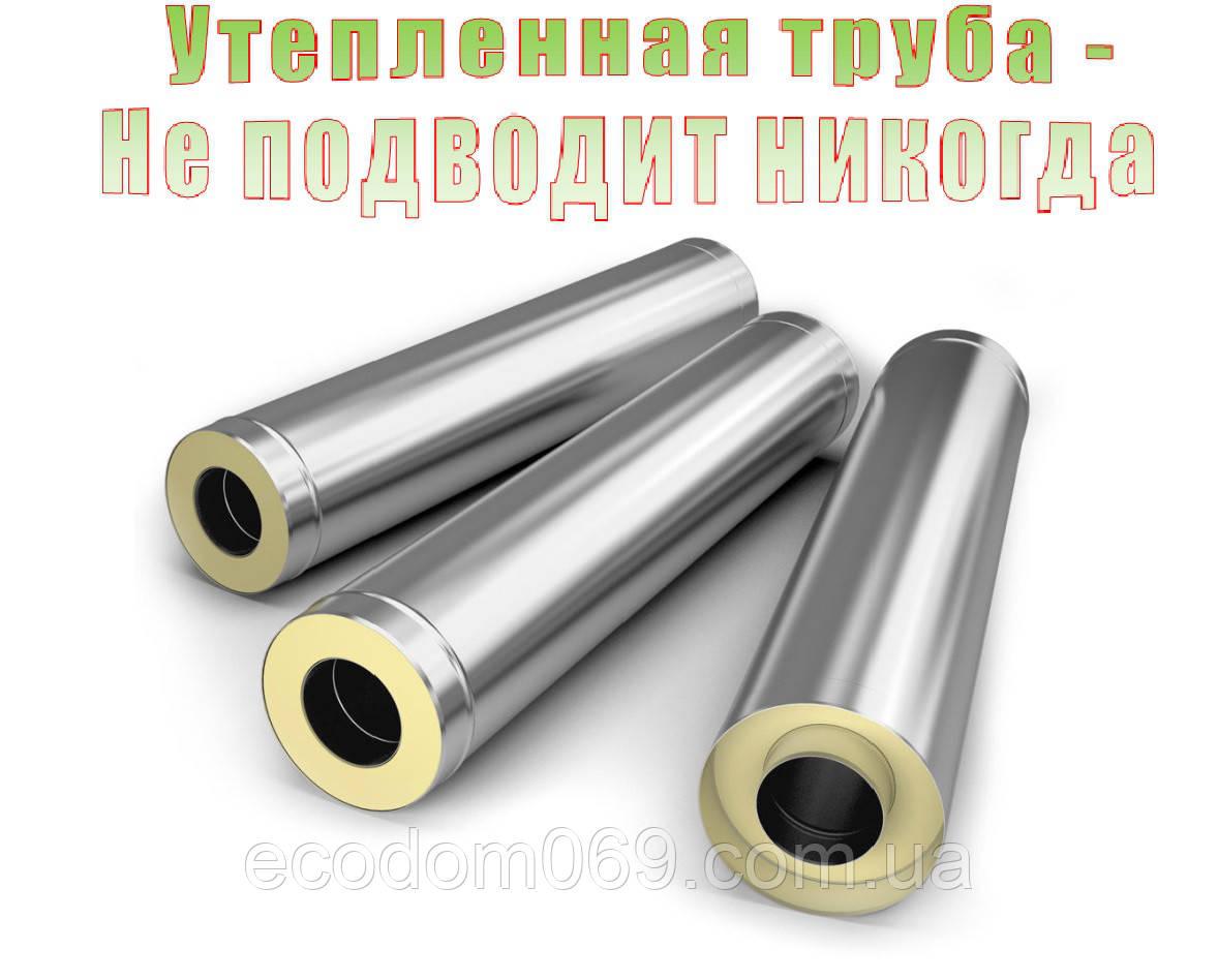 Дымоход утепленный 100 трубочист средство для чистки дымоходов
