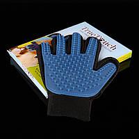 ОРИГИНАЛ! Перчатка  для ухода за шерстью питомца True Touch(Тру Тач)
