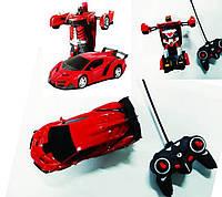 Радиоуправляемая машинка-трансформер Robot Car, фото 1