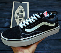 Кеды Vans old school black/white. Живое фото! (Реплика ААА+)