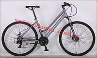 Шоссейный велосипед Magic Woman 28 дюймов 18рама  СЕРЫЙ