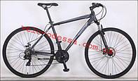Горный велосипед HoriZon Man 28 дюймов рама18 ЧЕРНЫЙCrosser