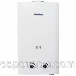 Газовая колонка Etalon A 10 Белая проточный газовый водонагреватель