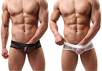 Сексуальные мужские боксерки сетка, фото 1