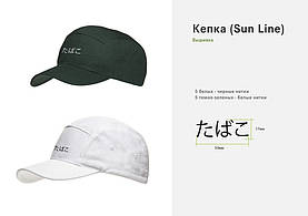Иностранные языки для нас не проблема! Вышили для клиента на кепках надпись.