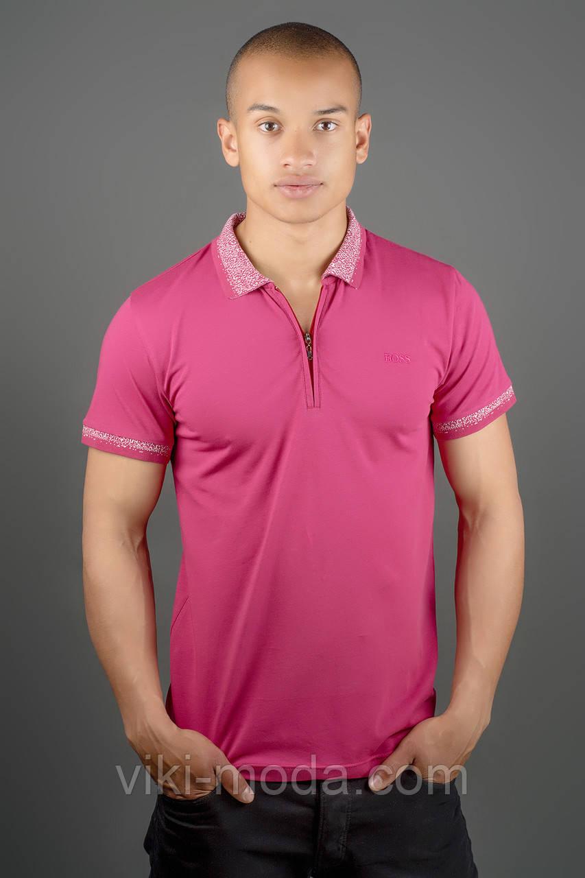 Мужская футболка Тимур (бордовый)