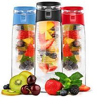 Спортивная бутылка Fruit Juice для воды и фруктов