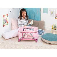Ліжечко переносна манеж для ляльки Бебі Анабель Baby Annabell Zapf 794982