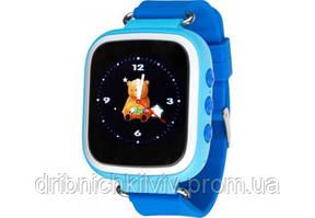 Детские смарт-часы Q80 Голубые
