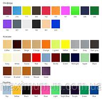 Тип и цвет ткани, используемой для бескаркасных кресел-мешков и пуфов.