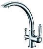 Смеситель для кухни с подключением фильтрованной воды  Zorg ZR 314 YF 33 Хром