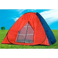 Палатка-автомат красно-синяя