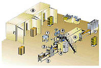 Макаронные линии для производства короткорезанных макаронных изделий и спагетти STORCI  100.1-300/1120 TH