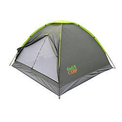 Однослойная палатка 3-х местная GreenCamp 1012