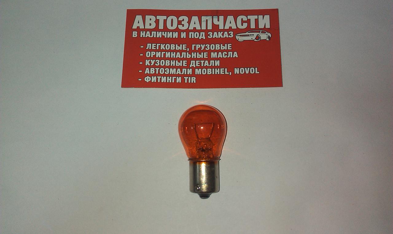 Лампа 24V 21W желтая Китай