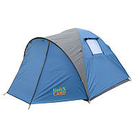 Четырехместная туристическая палатка GreenCamp 1004