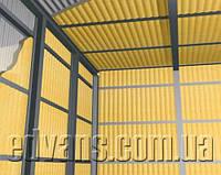Внутренняя изоляция  промышленных и сельскохозяйственных зданий напылением пенополиуретана