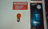 Лампа 24V 21W желтая смещенный контакт BOSCH
