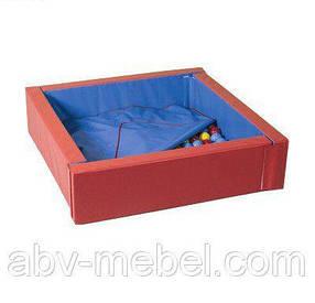 Сухой бассейн с матом 110x110 (TM Tia-sport)