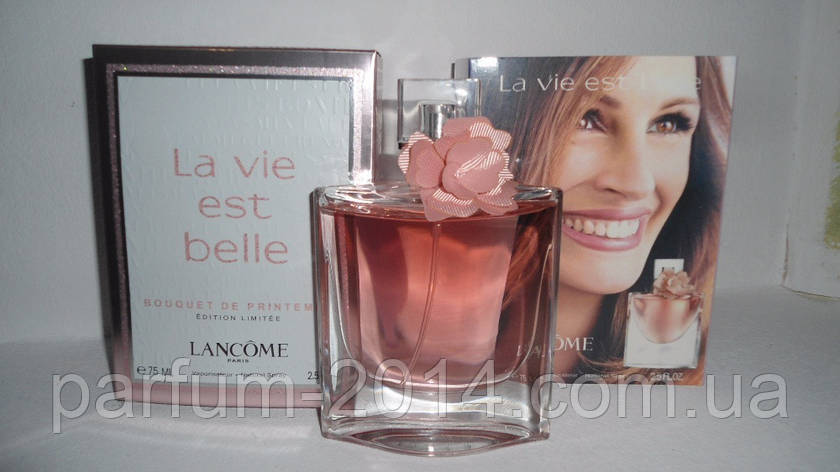 Женская парфюмированная вода Lancome La Vie Est Belle Bouquet de Printemps edition limitee 2017 (реплика), фото 2