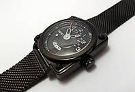 Часы концептуальные Skmei 9172 (5 bar) black @ silver