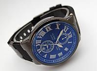 Женские часы - Ulysse Nardin - Le Locle на черном каучуковом ремешке, цвет черный