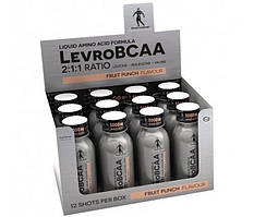 Levro BCAA 2:1:1 Ratio SHOT 120 ml fruit punch