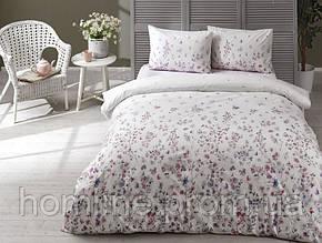 Постельное белье Tac ранфорс Elena лиловое двухспального евро размера