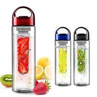 Бутылка со съемным отделом для фруктов Fruit Juice