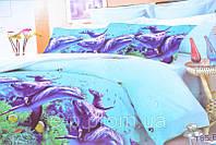 Комплект двуспального постельного белья с узором, поликоттон.(AN200/25) Размер :  ― Пододеяльник ( 175 см х 21