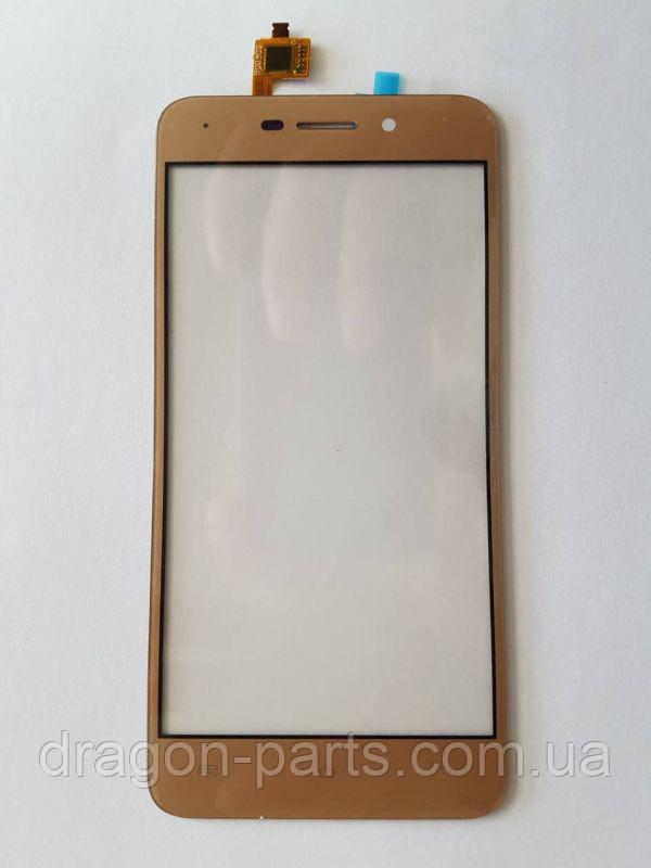 Сенсор (тач) Nomi i5012/i5013 Золотой Gold, оригинал