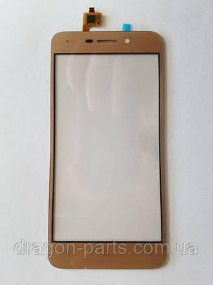 Сенсор (тач) Nomi i5012/i5013 Золотой Gold, оригинал, фото 2