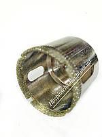 Коронка алмазная трубчатая по плитке и стеклу 60 мм
