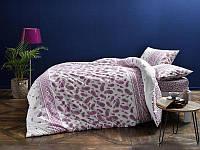 Постельное белье Tac ранфорс Balin фиолетовое двухспального евро размера