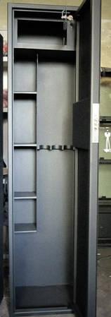 Оружейные сейфы СО 1500У/3ТП для хранения Трёх Ружей высотой до 1320 мм с кассовым отделением и поло