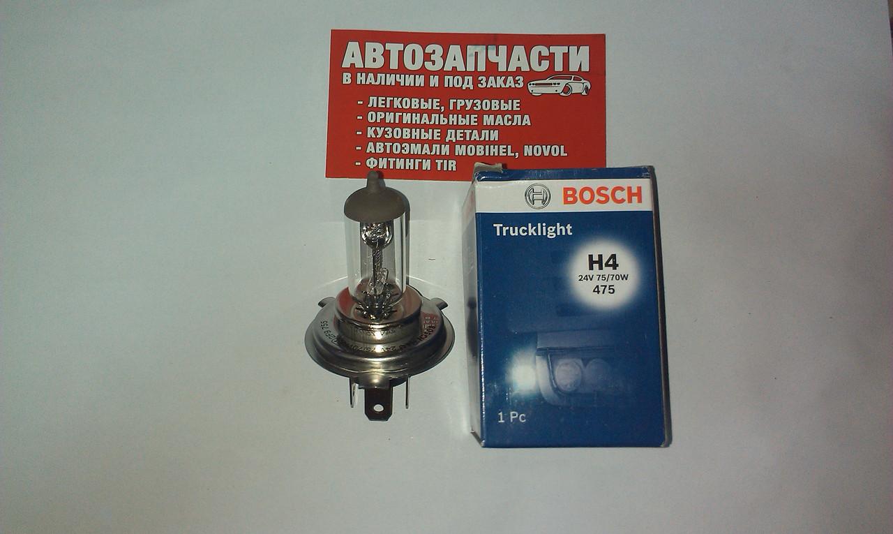 Лампа H-4 24V BOSCH