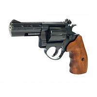 Револьвер флобера ME 38 Magnum 4R черный, дерев. рукоятка, 4 мм