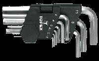 6-гранні ключі, 9 1,5 -10 мм короткі