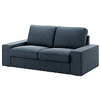 IKEA KIVIK Двухместный диван, холмистый флот  (491.937.33)