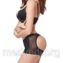Женские моделирующие шортики для коррекции бедер и ягодиц - Booty Maker (Черный), Размер M