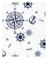 Ткань для штор в морском стиле скидка