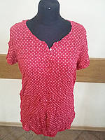 Футболка Поло женская  цвет малиновый Tom Tailor