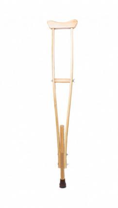 Милиця пахвовий MEDOK дерев'яний дитячий MED-02-001, фото 2