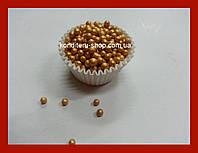 Посыпка золото 5 мм