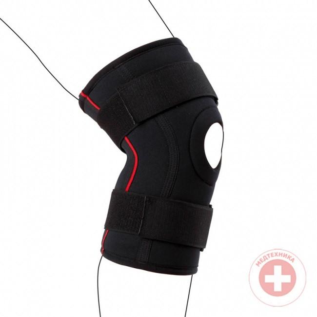 Пов'язку на колінний суглоб зігріваючий ортопедичний Ottobock Genu Therma Fit тип 8354