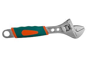 Разводной ключ Sturm 250 мм, мягкая ручка 1045-02-A250